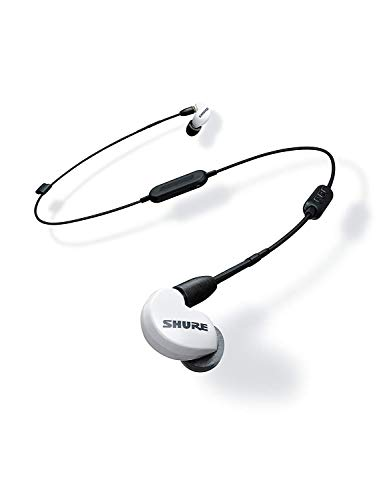Shure SE215SPE-W-BT1-EFS Special Edition Bluetooth Enabled Sound Isolating Earphones, White