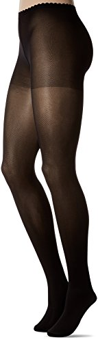 Dim Body Touch Panty Opaco 60D Medias, 60 DEN, Negro (Negro 127), Medium (Tamaño del fabricante:2) para Mujer