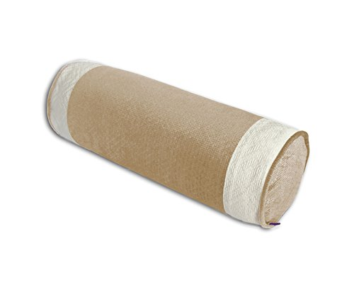 45 * 15cm, Oreiller Rond Coussin de Coussin de canapé en Bois Massif, Coussin de l'accoudoir Couleur Unie en Relief en Australie (Couleur : B)