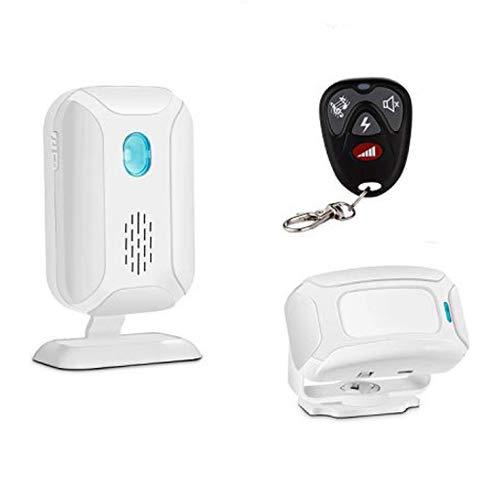 GREENCYCLE Motion Sensor Doorbell, Door Chime for Business Entry, Store Welcome Buzzer Monitor,Motion Sensor Detect Alarm, Caregiver Reminder for Elderly -1 Receiver 1 Motion Sensor 1 Remote