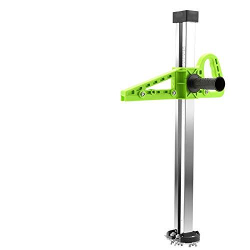 NO LOGO K-Fang, Handbuch High Accuracy Gips-Brett Cutter Hand drücken Trockenbau Schneide Artifact-Werkzeug mit 4 Bearings 20-600mm Bereich Cutting (Farbe : Green Short Type)