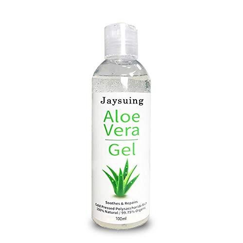 Anself Jaysuing Aloe Vera Gel Aloe extraído naturalmente Humedad acuosa translúcida Brillante Claro