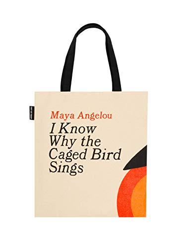Out of Print I Know Why The Caged Bird Sings Tote Bag