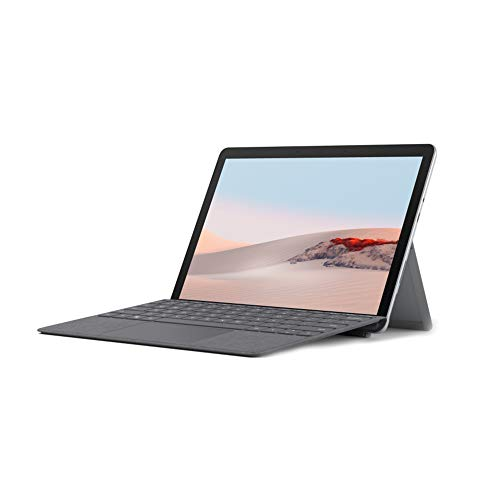 "Microsoft Surface GO 2 STQ-00013 10.1"" (26.54 cms) Laptop (Gold Processor 4425Y/8GB/128GB SSD/Windows 10 Home in S Mode/Intel UHD 615 Graphics), Platinum"