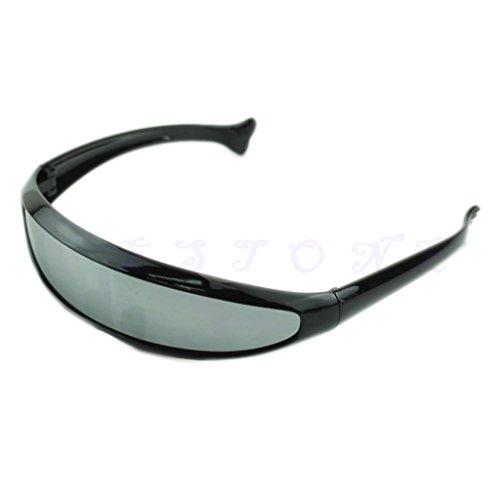 WOWOWO Bicicleta Gafas de Sol de la Motocicleta UV400 Anti V