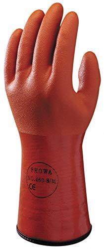 SHOWA 460, PVC – Beschichtung, Kälte, Orange, 8/M