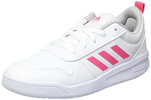adidas TENSAUR K, Zapatillas de Running, FTWBLA/ROSREA/FTWBLA, 37 1/3 EU