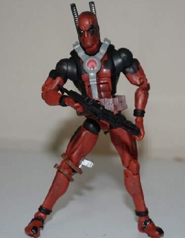XKMY Action Figure Giocattoli 16cm Super Hero 3 Stili Deadpool Action Figure Giocattoli Bambini Giocattolo di Natale (colore : Nero)