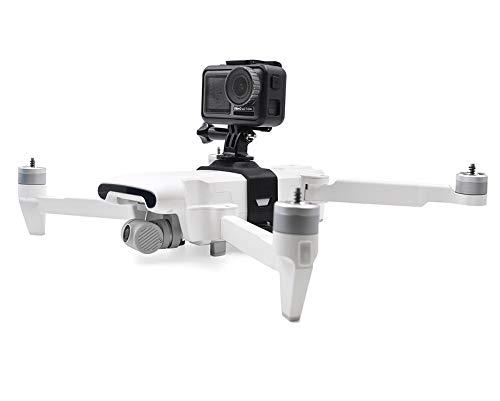 Honbobo Kamera Montieren Adapter/LED-Leuchten Feste Halterung für Insta360 One X/GoPro für XIAOMI FIMI X8 SE Drone