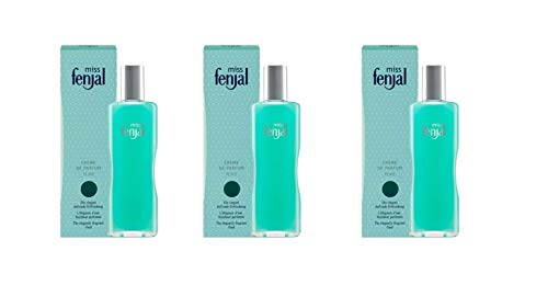 3x 100ml FENJAL - miss fenjal Creme de Parfum, Body Lotion, 3x100ml