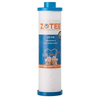 ZOTEE Filbur FC-3128 Spa Filter Disposable Hot Tub Filter with Garden Hose Adapter, Replacement for PPS2100, 1 Pack