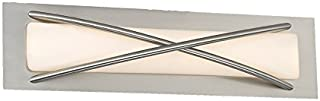 WAC Lighting WS-32621-BN Brushed Nickel Laced LED Wall Sconce, 21in