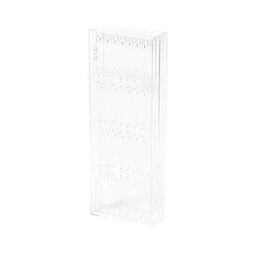 Compactor Rangement & CIE RAN6042 Schmuckständer, hochkant, Polystyren, transparent, zutreffend