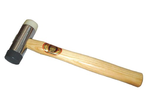 Thor - 712R Soft And Hard Faced Hammer Wood Handle 650G