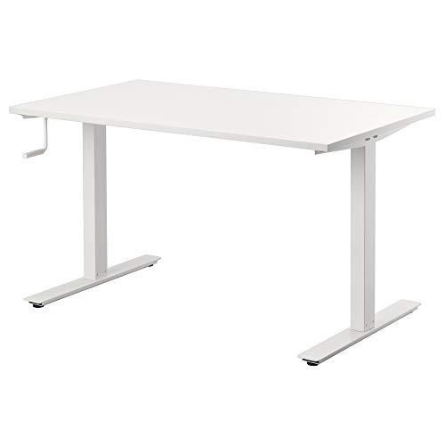 IKEA.. 490.849.65 Skarsta Schreibtisch Sitz/Ständer, Weiß