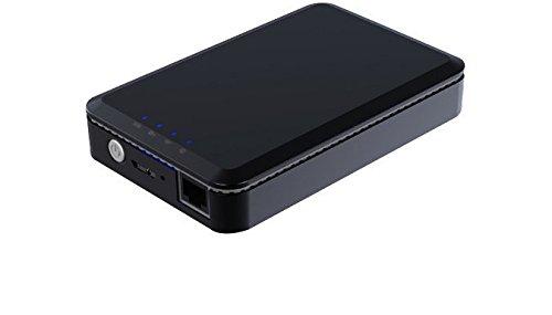 MEDION LIFE WLAN-Festplatte S89044 (MD 87890) 1000 GB, Kabellos Daten abrufen und speichern, integrierter Lithium-Akku, Power Bank Funktion, Kostenlose App für iOS/Android, schwarz