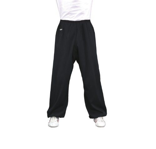 Kwon - Pantalon Kung Fu noir T/180cm