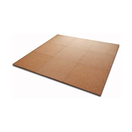 超大判コルクジョイントマット32枚セット(約6畳分)【IT】【tm】(#9810126x8)サイズ:60×60cm サイドパーツ付き