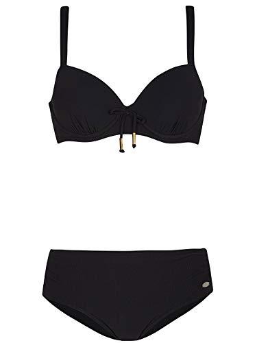 Susa Bikini mit Bügel Solid Range 1892 Gr. 46 D in schwarz