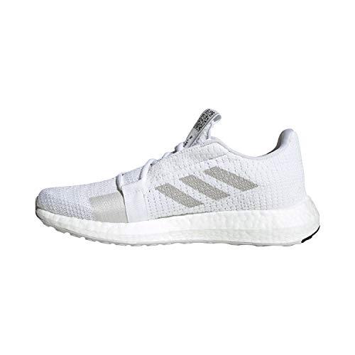 adidas Sense Boost Go Running - Zapatillas de running para mujer, color negro, color Blanco, talla 40 EU