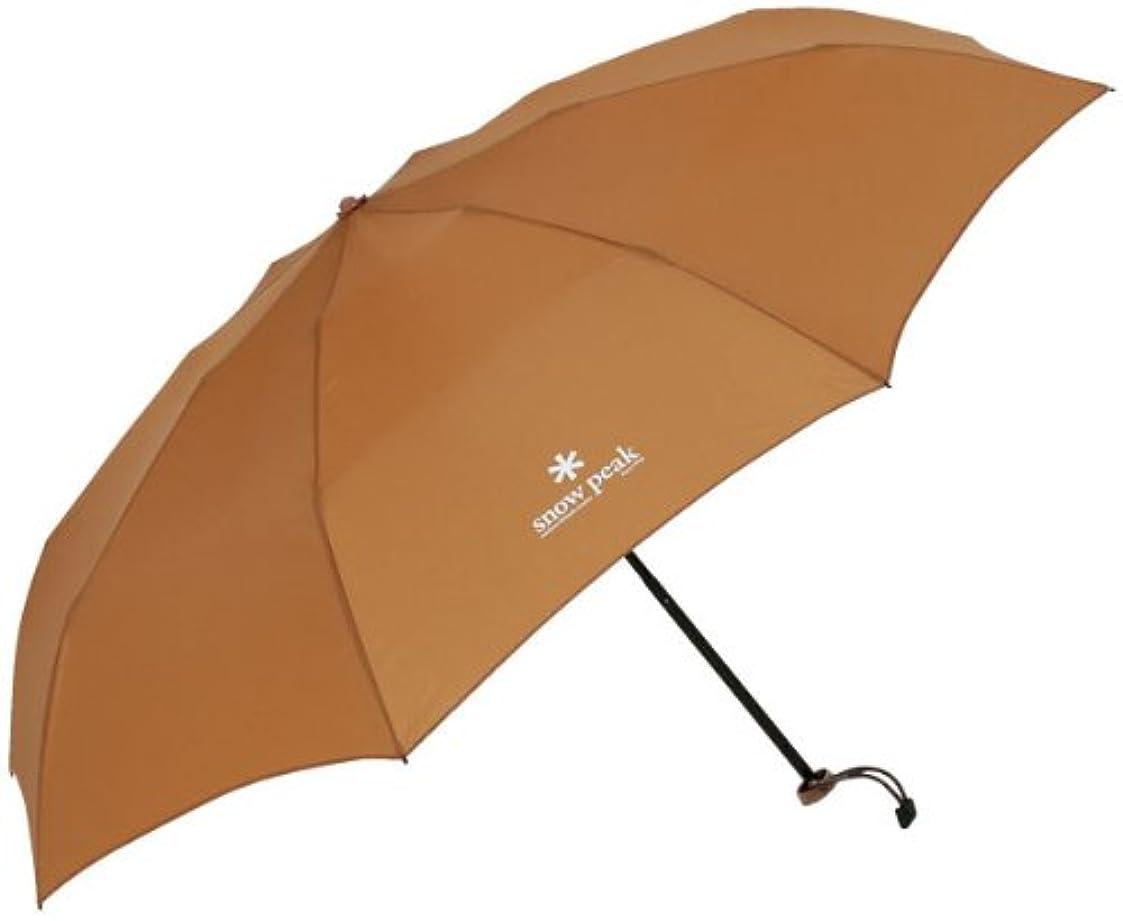 開いたインペリアル生理スノーピーク(スノーピーク) スノーピーク アンブレラUL Snow Peak Ultra Light Umbrella BG UG-135BG ベージュ Beige 傘