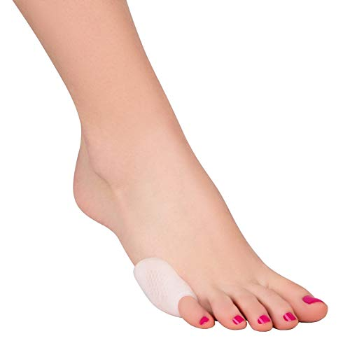 Tailors Bunion Corrector - Tailor Bunion Relief Soft Silicone Bunionette Corrector Splint Gel Guard Shields Bunion Pads - Tailor's Bunion Cushion Pain Relief - Protects the Pinky Toe (1 Pair)