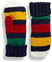 CANADA Hudson's Bay Company 'The Stripes' Mittens - MULTI STRIPE-Large/X-Large NEW
