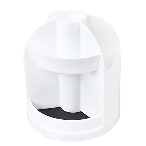 ZHAS Boîte de Rangement cosmétique 360 Degre Boîte de Rangement cosmétique rotative Boîte de Maquillage pour Organisateur Porte-Pinceau Organisateur