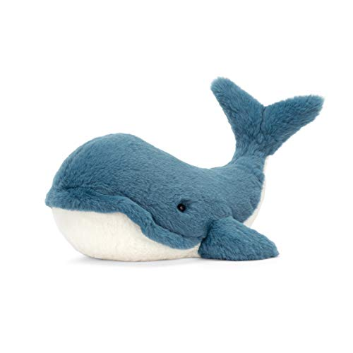 Jellycat Wally Whale Stuffed Animal, Large, 17 inches