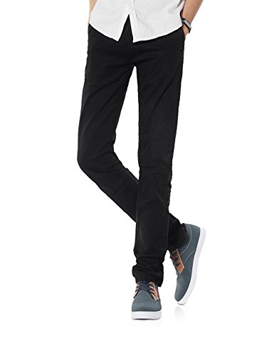 Demon&Hunter 910X Delgado Serie Pantalones Hombre Elásticoidad Casual DH9101(33)