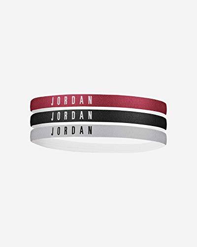 Jordan Headbands 3PK Cinta para la Cabeza, Adultos Unisex, Multicolor, Talla Única