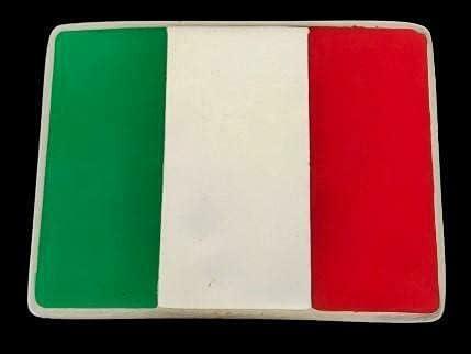 Italy Italian Popular popular Italia service Soccer Team Buckl National Buckle Belt Flag