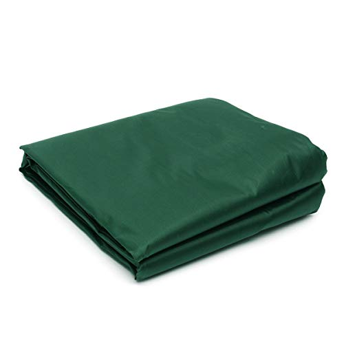 OZYN Dunkelgrün 300D wasserdichtes Sonnensegel Quadratischer Rechteck-Sonnenschirm Gartenterrasse Baldachin Schwimmender Sonnenschirm (Color : Dark Green, Size : 2.5x3m)