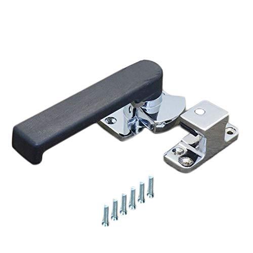 Protección antimicrobiana de bloqueo fácil de abri Manija de la puerta del horno, cerradura de la puerta de la caja de vapor de la puerta del horno del refrigerador del refrigerador de la puerta del a