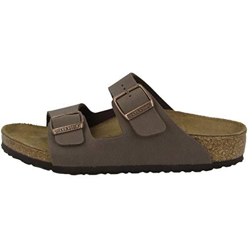 Birkenstock Schuhe Arizona Kids Birko-Flor Schmal Mocca (552893) 30 Braun