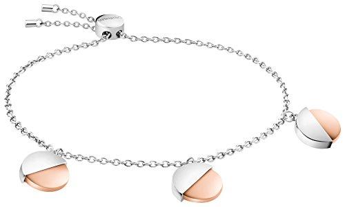 Calvin Klein Damen-Gliederarmbänder Edelstahl KJ8RPB200100