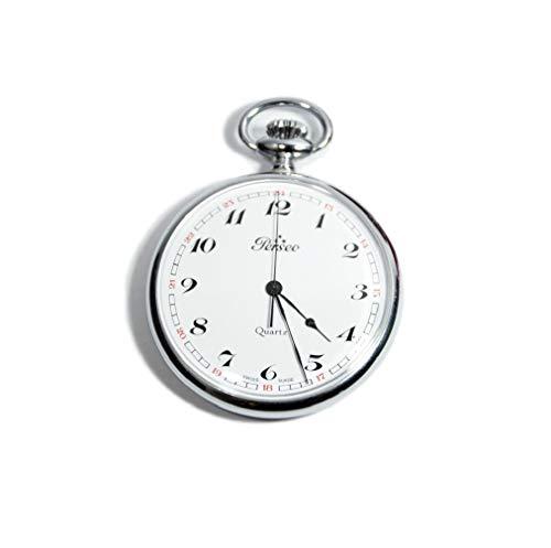 Orologio Perseo Argento da taschino SWISS MADE