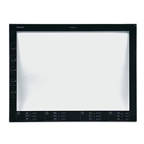 Electrolux AEG 561610709 5616107099 ORIGINAL Innenscheibe Glas Tür Fenster Backofentür bedruckt PYROLUXE MAXI für Backofen Herd Ofen auch Husqvarna Voss