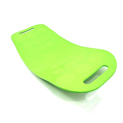 Fitness Balance Board,Shaping Board,Fitness Yoga Board Yoga Relaxation Simple Fitness Core Control Non-Slip Workout for Abdominal Muscles and Legs
