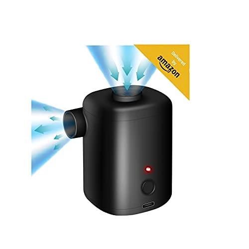 FreeLionVon pompa d'aria elettrica 3000mAh USB batteria ricaricabile per gommoni/sgonfiatore 4 ugelli aria materasso pompa batteria ricaricabile piscina giocattoli, letti materasso aria, anello nuoto