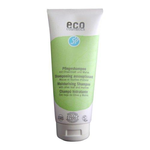 Eco Cosmetics–veganes Shampoo Feuchtigkeits spendend, Ohne Mikroplastik, Naturkosmetik, 1x 200ml
