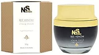 Skin Nutrient Bee Venom Leave On Sleep Mask Night Treatment 50g Anti Aging Facial Mask Made in Australia
