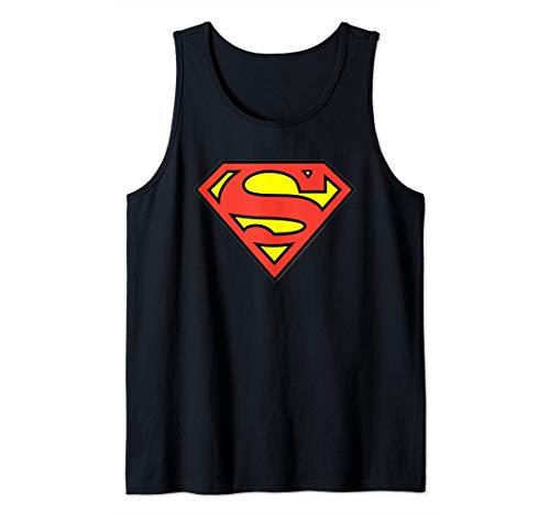 DC Comics Superman Logo Camiseta sin Mangas