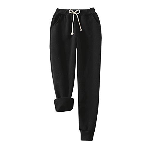 2020 Nouveau Pantalon Fourrure Polaire Chaud d'hiver Pantalons Suède Cofortable Mode Pants Casual Pantalon de Pyjama Maison Pantalon de Legging en Laine Décontracté Bas de Pyjama Femme Hiver Chaud