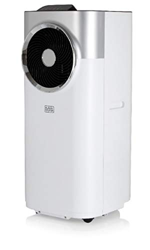 BLACK+DECKER BXAC40008GB 12,000 BTU Portable 3-in-1 Air Conditioner, Dehumidifier,...