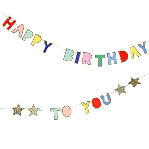 Meri Meri Happy Birthday to You Mini Garland