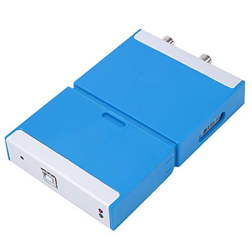 Osciloscopio Digital, USB 2.0 Plug And Play AC DC Ancho De Banda 50M Herramienta De Frecuencia De Muestreo Portátil Osciloscopio Virtual C520 Para Interiores Y Exteriores