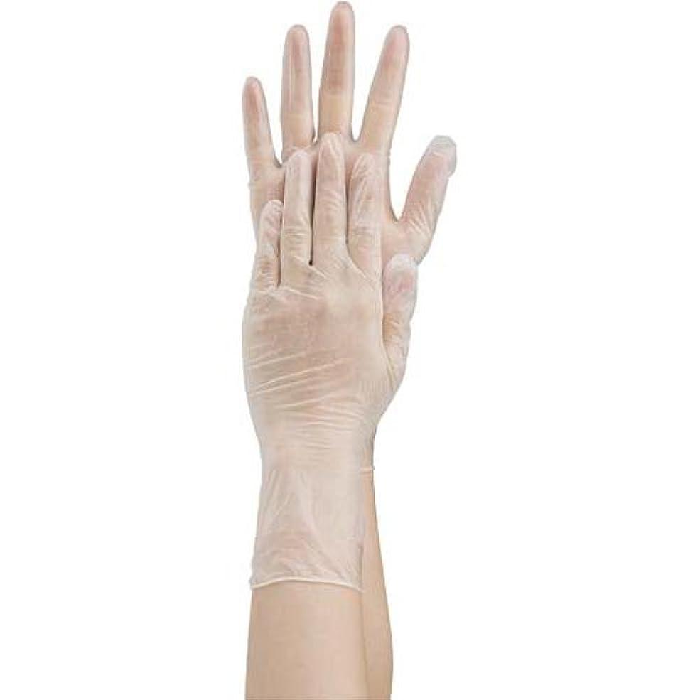 比類なき知人解凍する、雪解け、霜解け共和 プラスチック手袋 粉付 No.1500 S 10箱