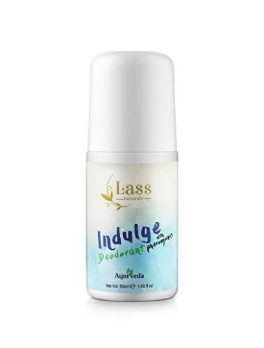 Lass Naturals Indulge Deodorant with Pheremones 50ml - No Paraben & Sulphate