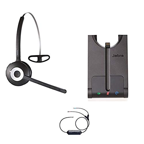 Avaya Phone Certified Jabra Cordless Headset   PRO 920 Avaya Bundle   Avaya Compatible VoiP Phones: 9601, 9611, 9611g, 9621, 9641   Remote Answer Included  (Mono - Black)